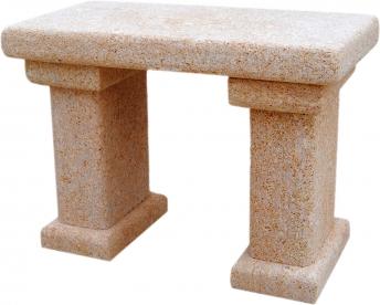 Banco de piedra natural mod. Cap Prim