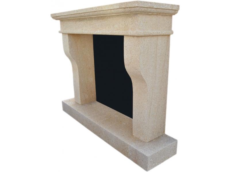 chimenea de piedra natural mod tosalet