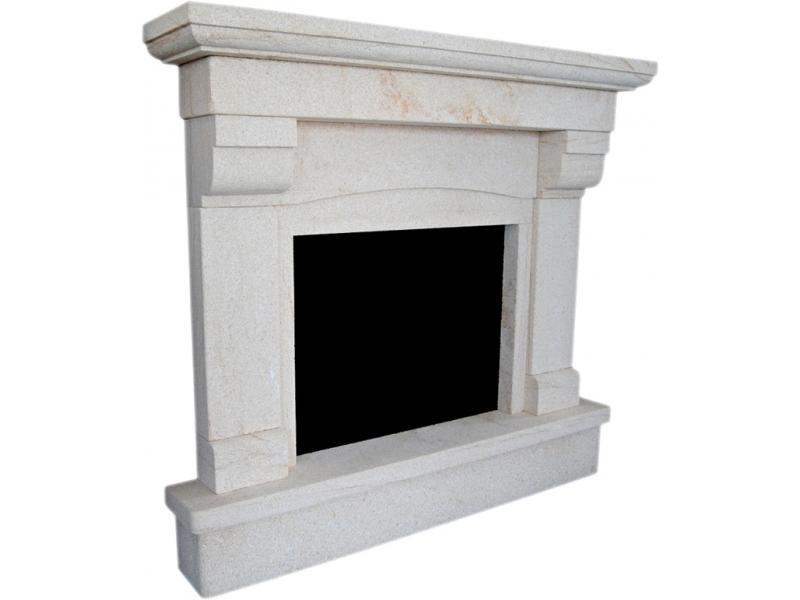 chimenea de piedra natural mod costa nova