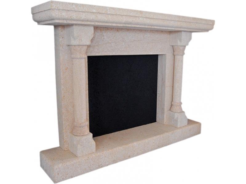 Chimeneas piedra natural dise o moderno para el hogar - Lana de roca para chimeneas ...
