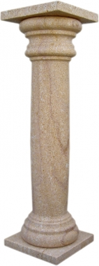 Columna decoración de piedra natural mod. 13