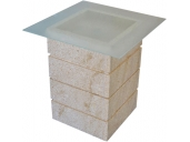 Natural stone table mod. 5