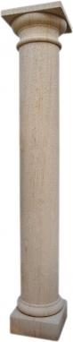 Columna de piedra natural mod. Redonda