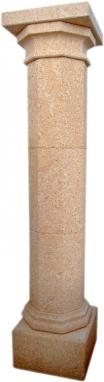 Pilar de piedra natural mod. Octogonal