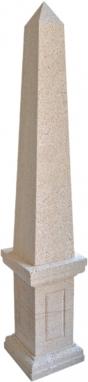 Obelisco de piedra natural mod. 2