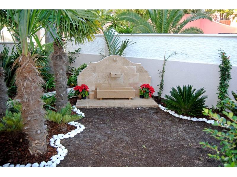 Fuente de piedra tosca mod costa blanca for Jardin fuente de piedra
