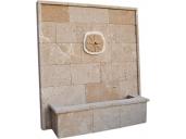 Fuente de piedra tosca mod. Cala Sardinera