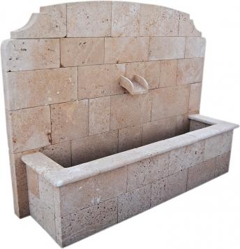 Fuente de piedra tosca mod. Arenal