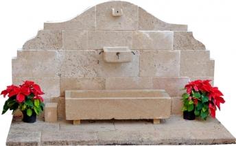 Fuente de piedra tosca mod. Costa Blanca