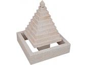 Fuente de piedra natural mod. Pirámide 2
