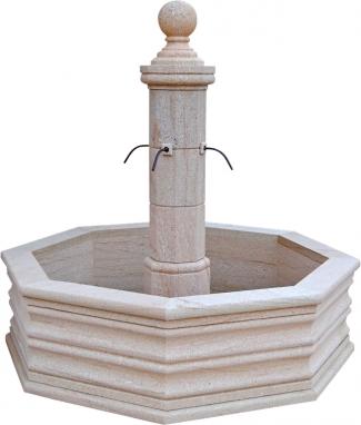 Fuente de piedra natural mod. Cala Blanca