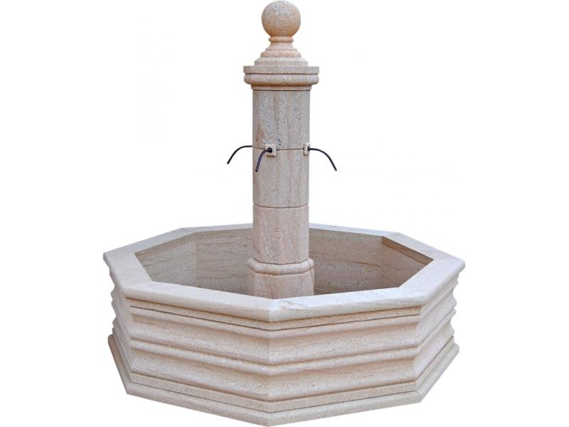 Fuente de piedra natural mod cala blanca - Fuentes de piedra natural ...
