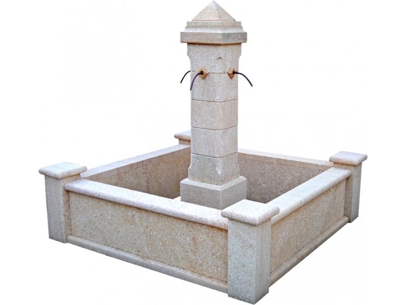 Fuente de piedra natural mod Tang