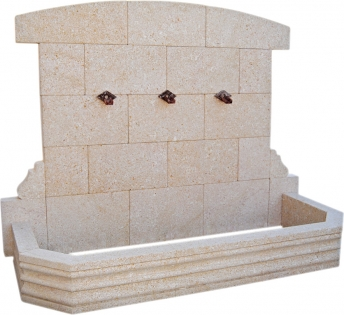 Fuente de piedra natural mod. Moraig