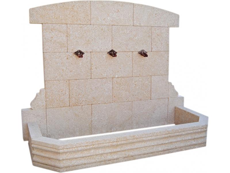 Fuente de piedra natural mod moraig - Fuentes de piedra natural ...