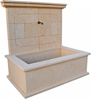 Fuente de piedra natural mod. Francés