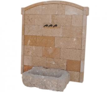 Fuente de piedra tosca mod. Caleta