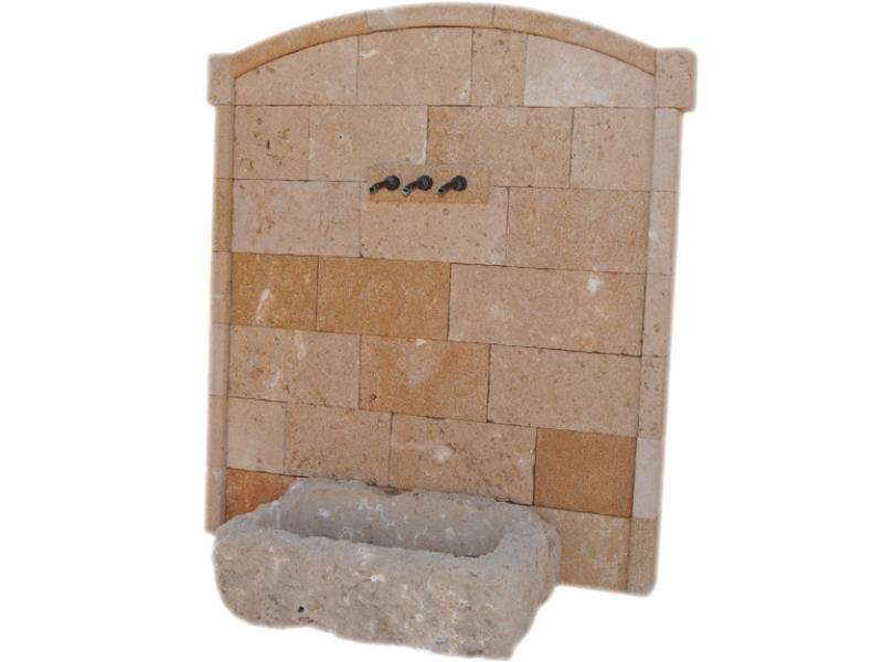 Fuente de piedra tosca mod caleta - Fuentes de piedra antiguas ...