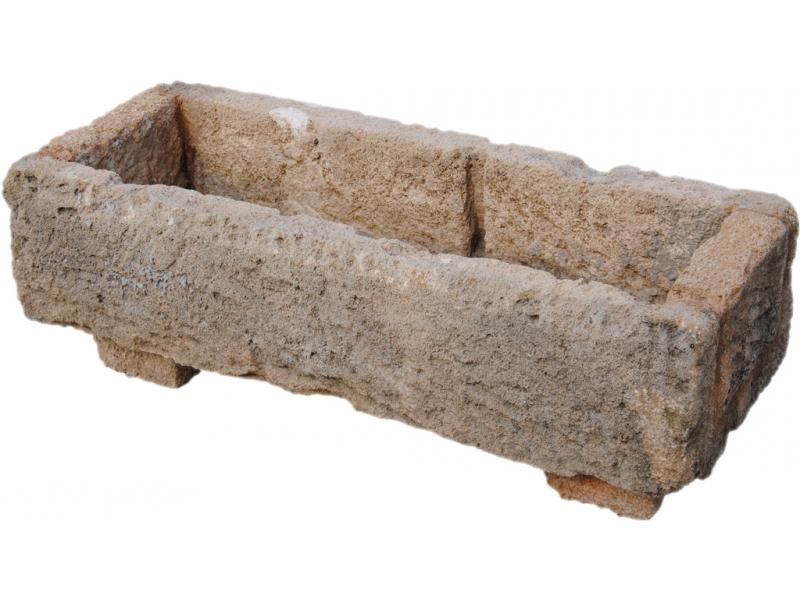 Jardinera de piedra tosca mod 2 - Fuentes de piedra antiguas ...