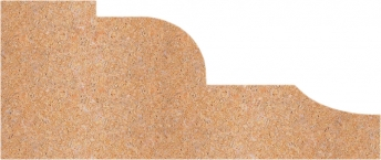 Moldura de piedra natural mod. M4-5