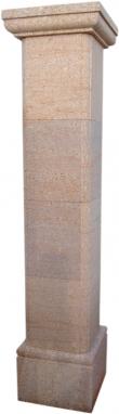 Pilar aplacado de piedra natural mod. Canto Pilastra