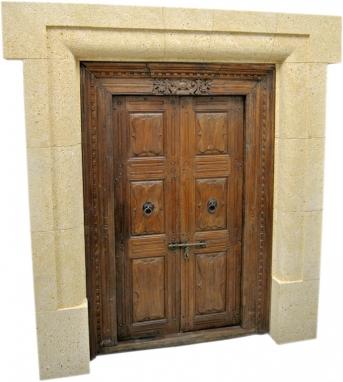 Portal de piedra natural mod. 1