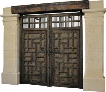 Portal de piedra natural mod. 4