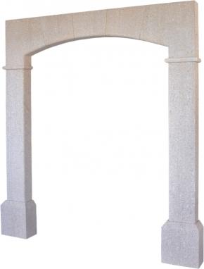 Portal de piedra natural mod. 5