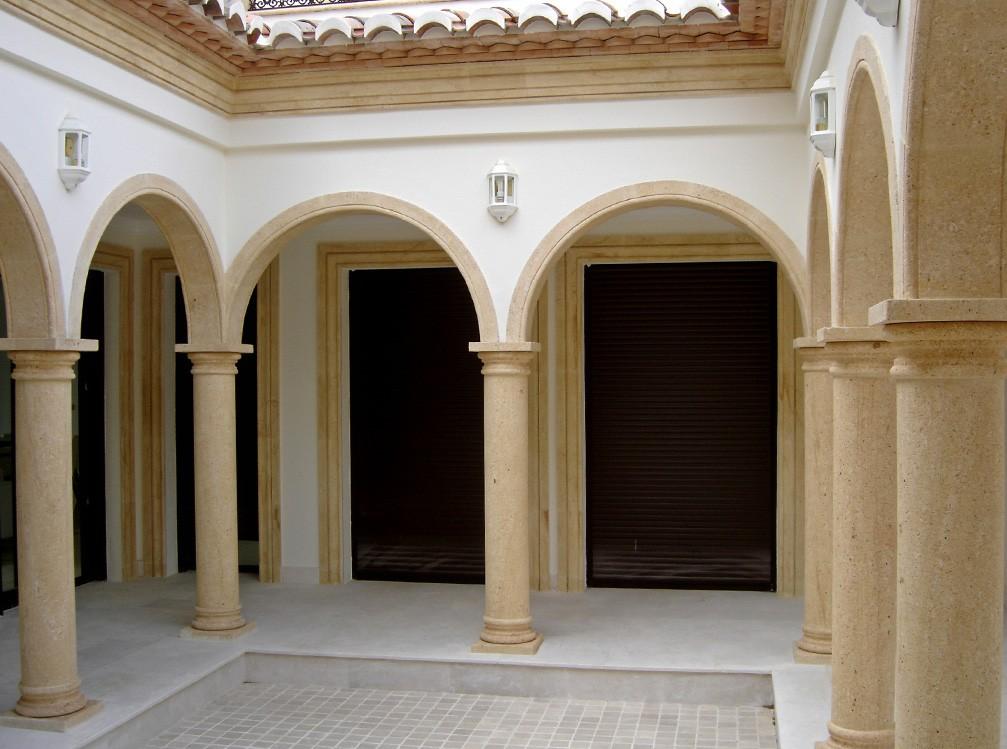 Galer a de trabajos for Pilares y columnas